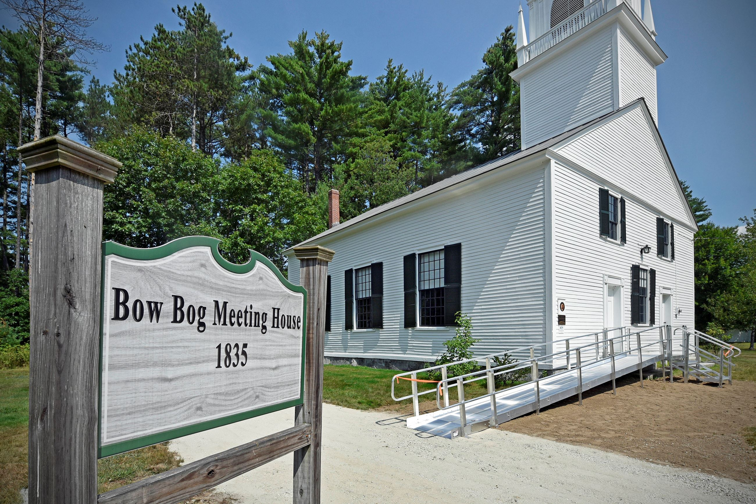 Bow Bog Meeting House with Portable Ramp