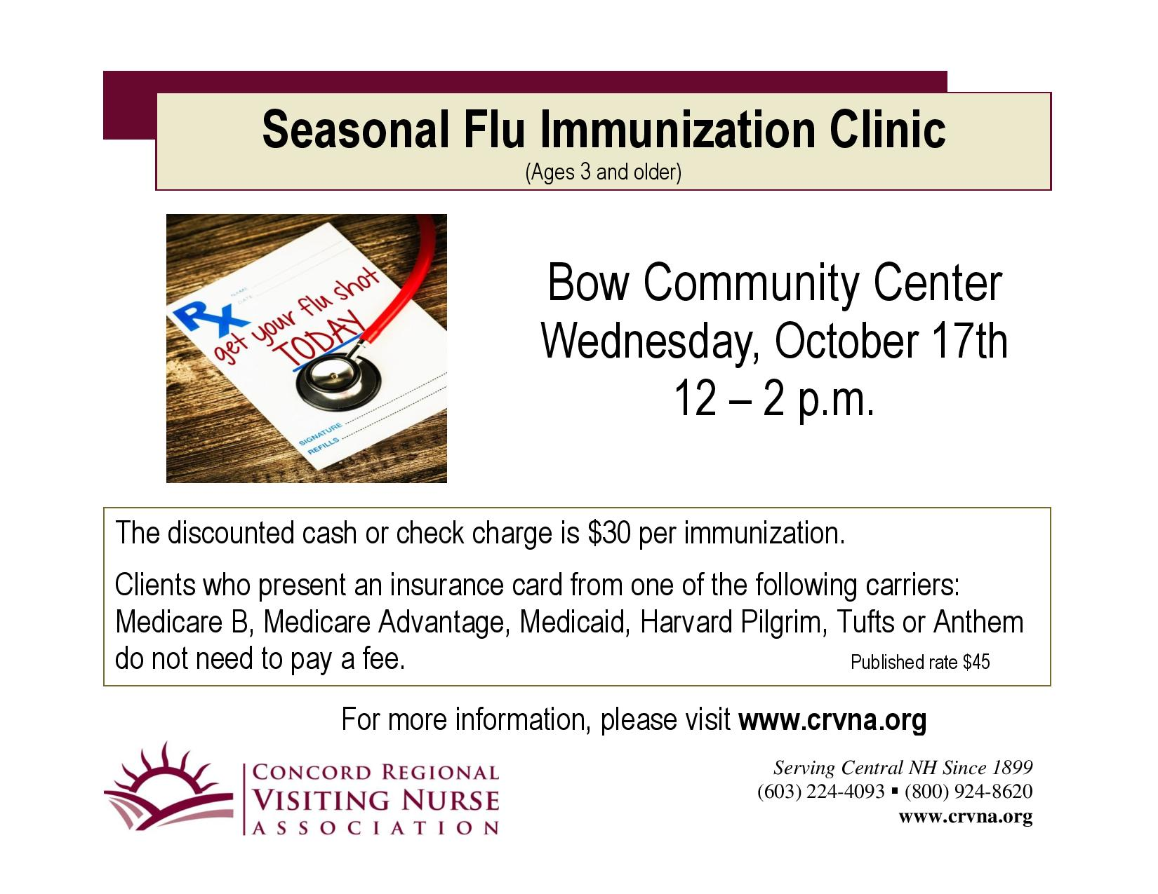 10 17 2018 Seasonal Flu Immunization Clinic-page-001