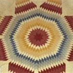 New England quilt circa 1850, Maker unknown