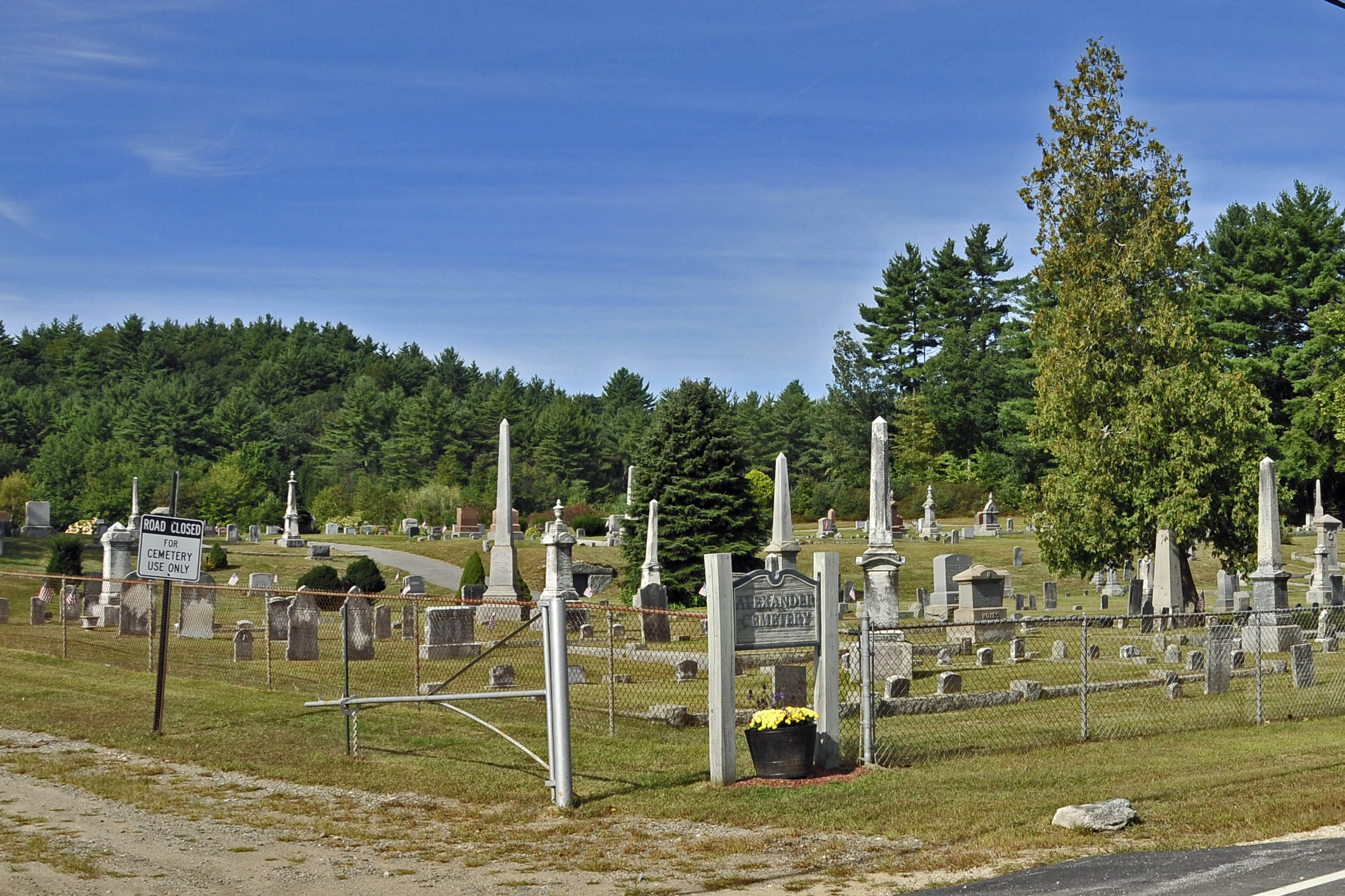 Evans Cemetery (photo by Eric Anderson)