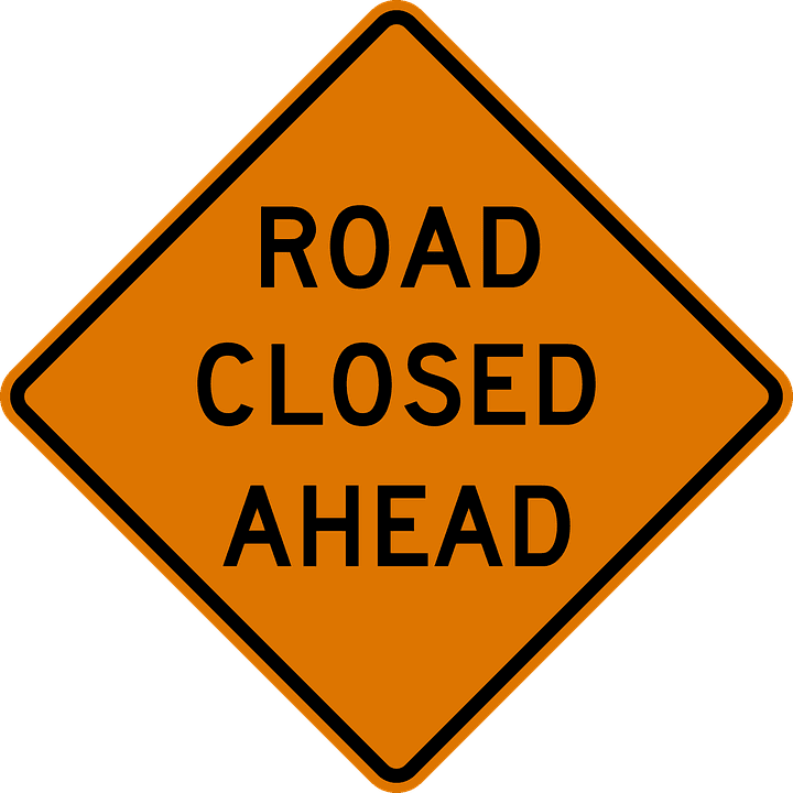 DPW Road Closed