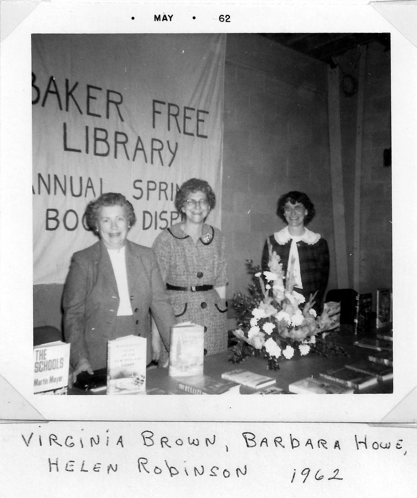 Pg 47  Baker Free Library Spring Event in 1962